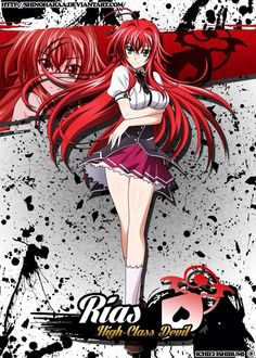 This was a commission - Rias Gremory isfrom High School DxD Rias Gremoryis the main female protagonist of Anime Echii, Chica Anime Manga, Anime Art, Anime High School, High School Art, High School Bucket List, Rias Gremory Hot, High School Couples, American High School