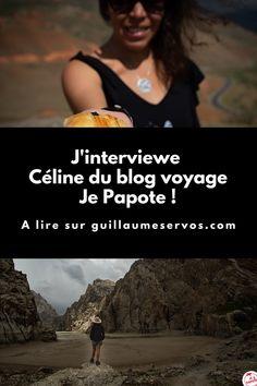 Découvre mon interview avec Céline du blog Je Papote. Au menu : son rapport au blogging, aux réseaux sociaux et au voyage. Pour cet épisode 30, je te présente Céline du blog voyage et gourmand Je Papote. En toute simplicité, elle papote voyage et cuisine du monde.