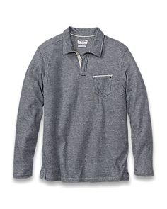 Tommy Bahama - Island Modern Fit Deux Over Long-Sleeve Polo