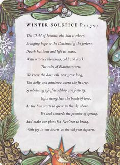winter solstice prayer - Bing Images