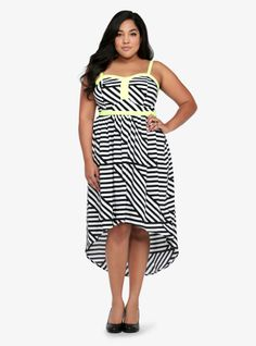 Flirty and fun in stripes! I NEED this dress!!!