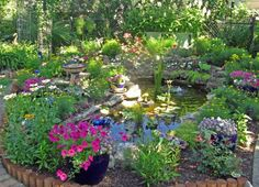BarbPondpreferred 634x458 18 Lovely Ponds And Water Gardens For Your Backyard
