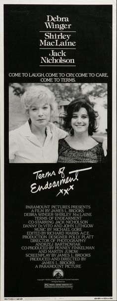 Terms of Endearment (1983) Jack Nicholson - Best Supporting Actor Oscar 1983
