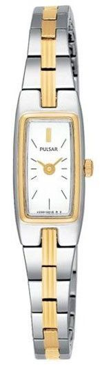 Pulsar PEX506 Women's White Dial Stainless Steel Bracelet Watch