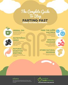 Farting and excessive gas is not only embarrassing, but painful. We share some natural remedies and lifestyle changes to stop the farting fast. Headache Remedies, Herbal Remedies, Cold Remedies, Health Remedies, How To Stop Gas, Excessive Gas And Bloating, Natural Remedies For Gas, Natural Gas Relief, Home Remedies For Gas