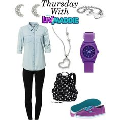 Thursday With Liv And Maddie/Full Week In Description