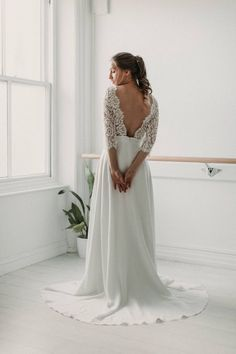 Posie – Luna Bride Handmade Wedding Dresses, Elegant Wedding Dress, Chiffon Skirt, Silk Chiffon, Stylish Dresses, Formal Dresses, Traditional Gowns, Bridal Separates, Fit And Flare Skirt