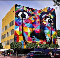 Kobra Street Art, Graffiti, City Style, Urban Art, Murals, Artsy, Artwork, Design, Street