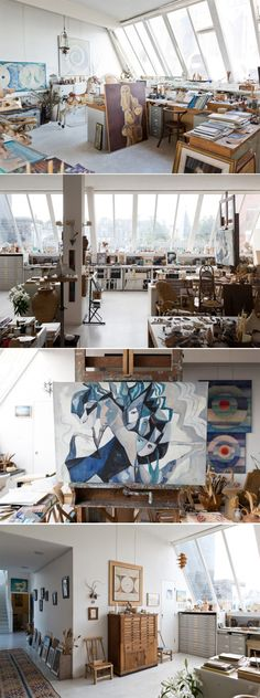 Gisèle d'Ailly Waterschoot van der Gracht   -  ( Publisher & Artist, Apartment, Amsterdam Centrum )
