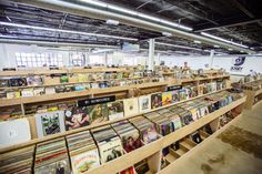 With 15,500 square feet of floor space and 100,000 records, Josey Records is more affordable and less boutique than many...