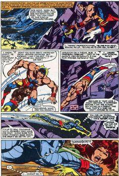 John Byrne Draws...X-Men #137, page 43 by John Byrne & Terry Austin & Glynis Wein. 1980.