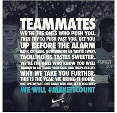 Love my team!! They motivate me beyond what I thought was possible