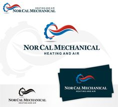 Bring new life to our logo:  Nor Cal Mechanical Heating and Air by tasa