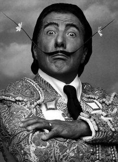 Dustin Hoffman as Salvador Dalí.