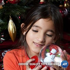 Choose quality over quantity when it comes to your children's toys - flimsy edges could be hazardous when cracked or broken. #StaySafe #Kids #Toys #ToySafety #ADT #HappyHolidays #Gifting