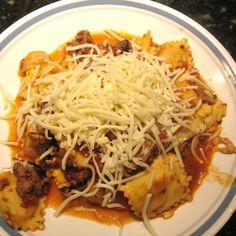 Crock Pot Cheesy Italian Tortellini Recipe 2 | Just A Pinch Recipes