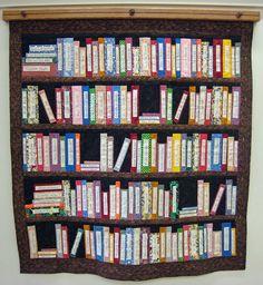 Library Quilt by ellenmac11, via Flickr