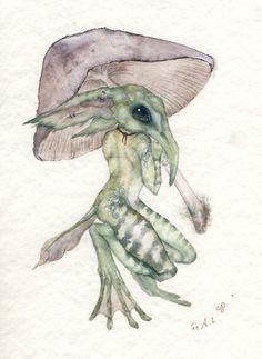 The Mushroom Umbrella by TheFieldAlchemist on DeviantArt