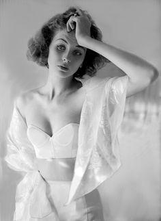 Lillian Bassman #lingerie #fashion #vintage