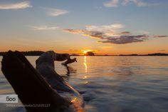 Beauty of sunset Sunset at Kuopio Finland
