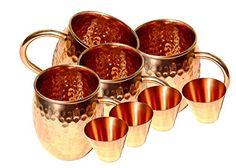 STREET CRAFT Set of 4 100% Pure Solid Copper Moscow Mule ... https://www.amazon.com/dp/B01B4D7PPY/ref=cm_sw_r_pi_dp_U_x_LsTjAb23SGPPG