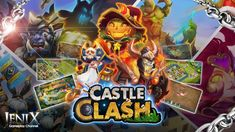 A full of epic heroes Strategy game for Android mobile! Check out this cool video featuring the gameplay for CASTLE CLASH by IGG Inc. Castle Clash, Strategy Games, Mobile Game, Ios, Android, English, English Language