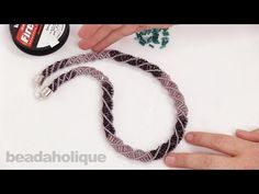 How to do a Russian Spiral Stitch ~ Seed Bead Tutorials