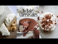 Low Carb Cheesecake | No Bake Keto Deliciousness | 3 Different Flavors! - YouTube