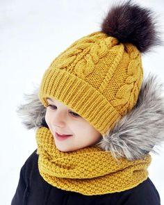 Crochet A Loop Scarf In Record Time - Al Loompatterns - Diy Crafts - Marecipe Crochet Kids Hats, Baby Hats Knitting, Knitting For Kids, Baby Knitting Patterns, Crochet Baby, Knitted Hats, Knit Crochet, Knit Beanie Hat, Crochet Beanie