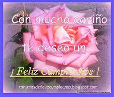 Tarjetas de Cumpleaños : 82-Tarjetas de cumpleaños con imagenes de rosas Tarjetas de Cumpleaños .