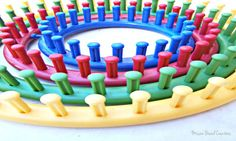 Loom Size Chart: Recommended Rows for Loom Knit Hats and Other Helpful Information Loom size chart is for circle looms . You can use a square loom to make hats but this website for now is focused on the round loom.