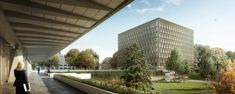 Gallery - Berrel Berrel Kräutler Wins Competition to Expand WHO's Geneva Headquarters - 2