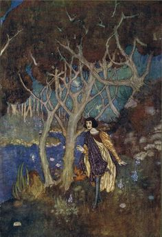 Ferdinand: Thence I have follow´d it, Or it hath drawn me rather - Shakespear's Comedy of The Tempest, 1908