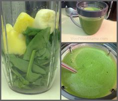 Green Smoothie with Nutrisystem approved SmartCarbs! #NSNation #spon