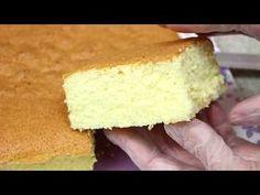 PÃO-DE-LÓ LEVÍSSIMO INGREDIENTES: . 6 gemas ou 102 gramas . 2 xícaras (chá) de açúcar ou 368 gramas . 1 colher (sopa) de óleo ou 9,4 gramas . ½ xícara (chá) ... Best Gluten Free Desserts, Delicious Desserts, Food Cakes, Cupcakes, Cake Cookies, Nutella, Cake Boss, Other Recipes, Macaroons