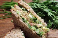 Sanduiche Natural: Rúcula com presunto Chef Taico, Avocado Toast, Breakfast, Food, Sandwich Recipes, Low Calorie Bread, Ham, Lean Body, Beverage