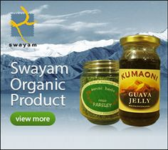 Buy Organic Foods and Skincare Products in India.  Swayamorg.in is one of the best online Eco friendly products store in India to buy natural food, organic food products, skincare product, natural skincare product, handmade product, handicrafts and Kumaon product online. Check out the widest range of Eco friendly products at our online Organic store swayamorg.in