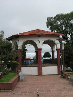Plaza Central. Amealco de Bonfil
