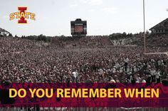 do you remember when... Jack Trice Stadium