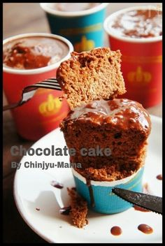 Chocolate Cake, Muffin, Pudding, Breakfast, Desserts, Recipes, Food, Facebook, Chicolate Cake