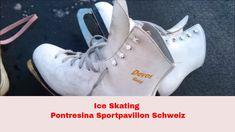 Ice skating Engadin Pontresina Switzerland