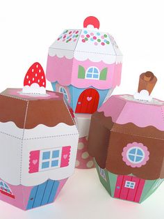 Cupcake Cottages Angle