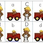 This fire safety themed game help children match their upper and lower case letters  Have fun leanring and playing!...