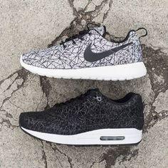 Nike roshe run géométric & air Max one