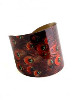 Eye of Peacock Cuff  $18.00