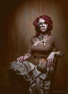 Steampunk (dear TSW - *this* is the hair and  skin tone I want for my toon!