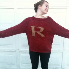 Harry Potter Sweater– ahhh closet musthave!