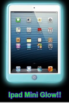 Glow in the Dark iPad Mini Case<!-- Click to Enlarge--> GLOW IN THE DARK OTHER STUFF! http://www.bewild.com/glindaboeyeb.html