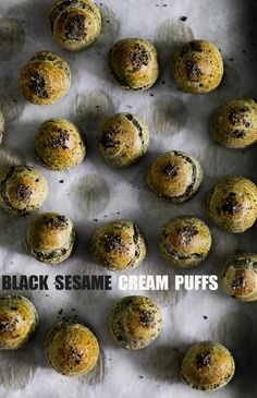 I of all people, know how intimidating it can be to play with ingredients that are completely outside of the comfort zone. You see, it's for the exact same reason that I seriously hate poker games with complete strangers, with unpredictable displays that... #blacksesame #creampuff #icecreamsandwich