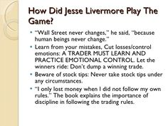 jesse livermore quotes - Google Search
